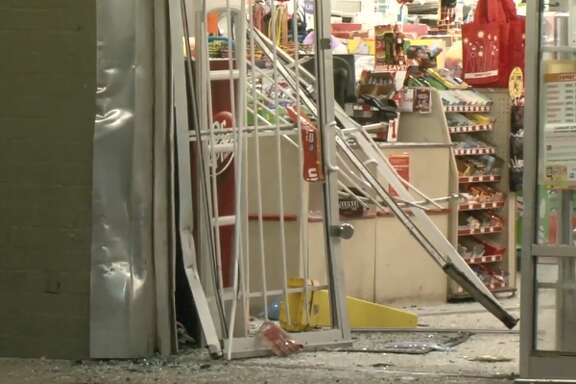 People attempted to break in to a Northline store Thursday morning, Feb. 22, 2018, but left empty-handed.