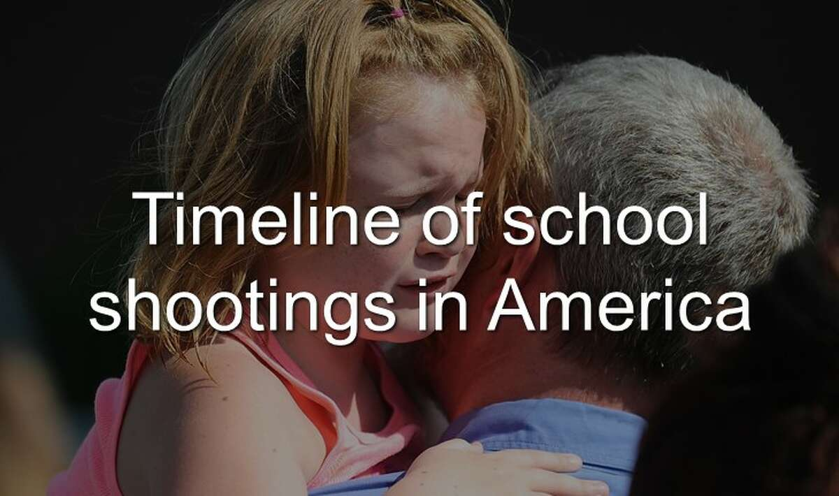 Continue through the photos to see the timeline of America's deadliest school shootings