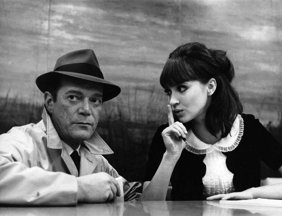 "A scene from the film ""Alphaville,"" which will be screened March 16. Photo: For The Edge"