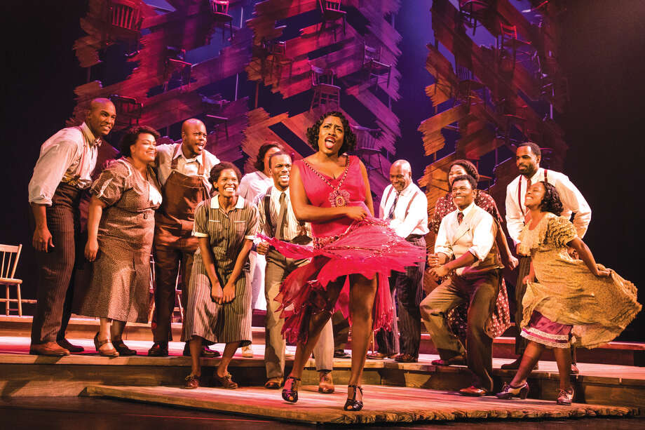 "A scene from ""The Color Purple,"" which will be performed at The Fox March 20 to April 1. Photo: For The Edge"