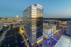 Air Liquide Center is a two-building development by MetroNational at 9807 and 9811 Katy Freeway near Memorial City.