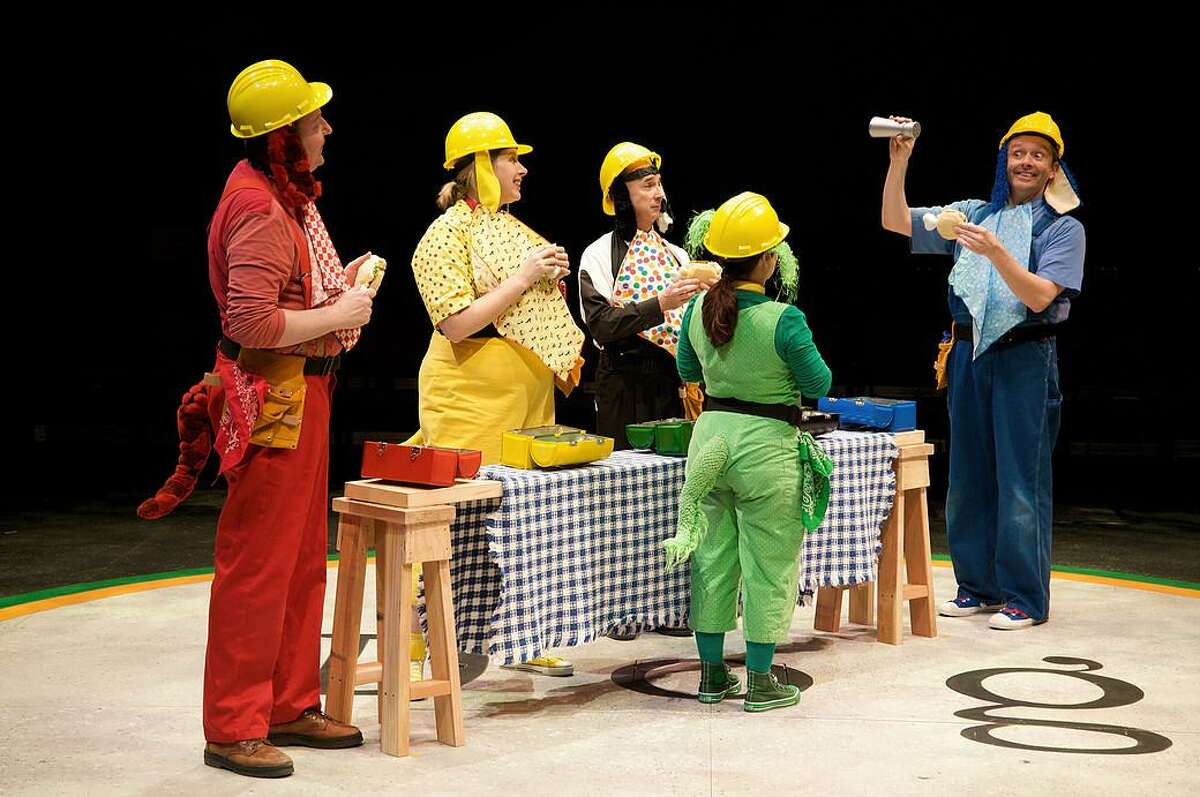 """Childsplay's musical for preschoolers, """"Go, Dog. Go!,"""" based on P.D. Eastman's classic children's book, comes to the Quick Center for the Arts at Fairfield University on Feb. 25."""