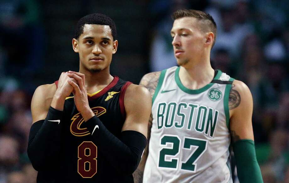 Jordan Clarkson:Clarkson, who graduated from Karen Wagner High School in San Antonio, was a part of the midseason trade between the Lakers and the Cavaliers. The Cavs point guard is averaging 14.6 points and 3.0 rebounds this season. (AP Photo/Michael Dwyer) Photo: Michael Dwyer, Associated Press / AP2018
