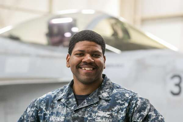 Petty Officer 2nd Class Christopher Windon.    Photo:   Navy Office of Community Outreach