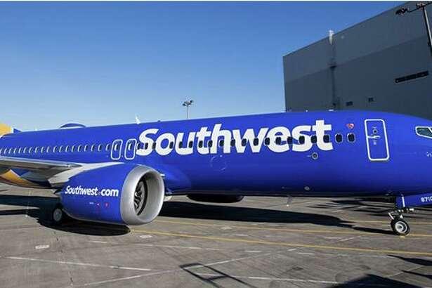 Southwest's new 737 MAX 8.