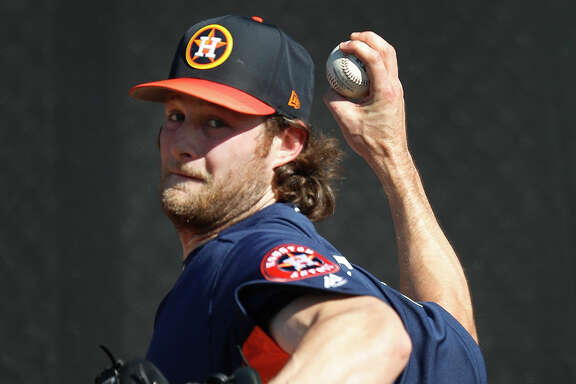 The addition of righthanded starter Gerrit Cole figures to be one of the bigger talking points during Astros spring training broadcasts this year.