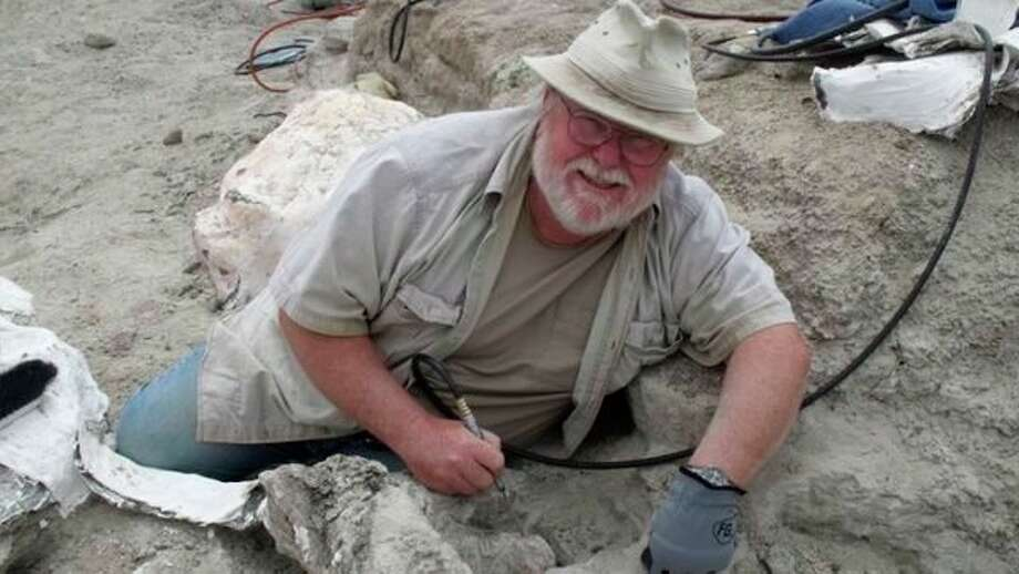 Midland's PaleoJoe will demonstrate how to clean and restore real dinosaur bones in programs scheduled through May at the Midland Center for the Arts. The programs are free with museum admission. (photo provided)