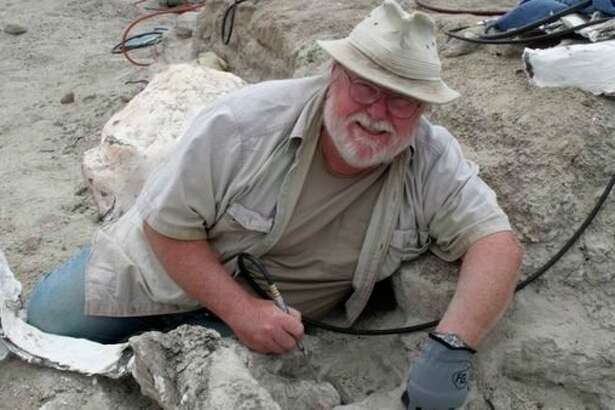 Midland'sPaleoJoewill demonstrate how to clean and restore real dinosaur bonesin programs scheduled through May at the Midland Center for the Arts. The programs are free with museum admission. (photo provided)