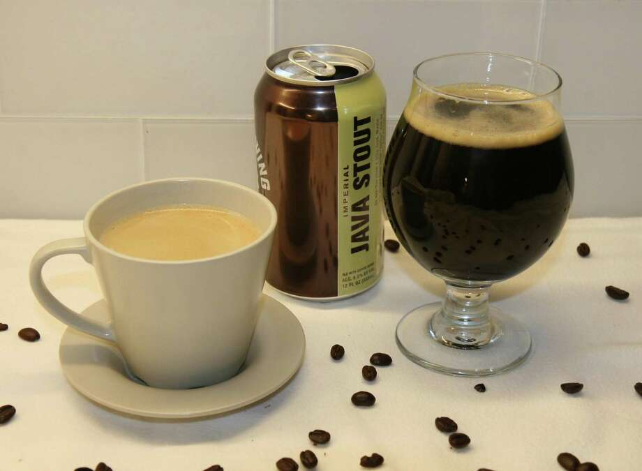 Coffee and dark beers have some similar flavors, so adding coffee to a stout or porter can give some very pleasant results. Photo: Markus Haas /San Antonio Express-News / San Antonio Express-News