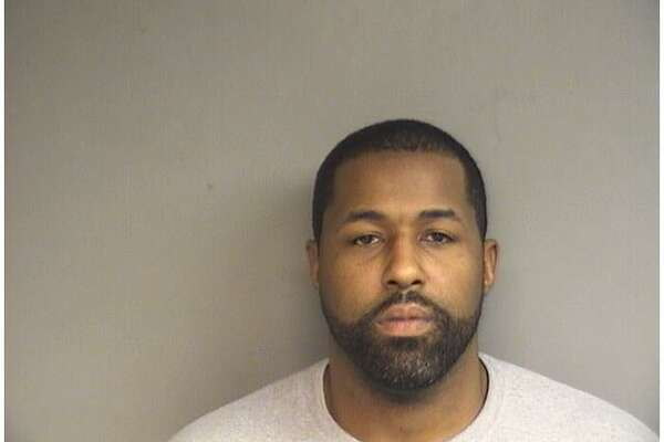 Anthony Evans, 33, of Hamden, was charged with paying down 33,000 worth of his debts by charging them to a Stamford man's credit card.