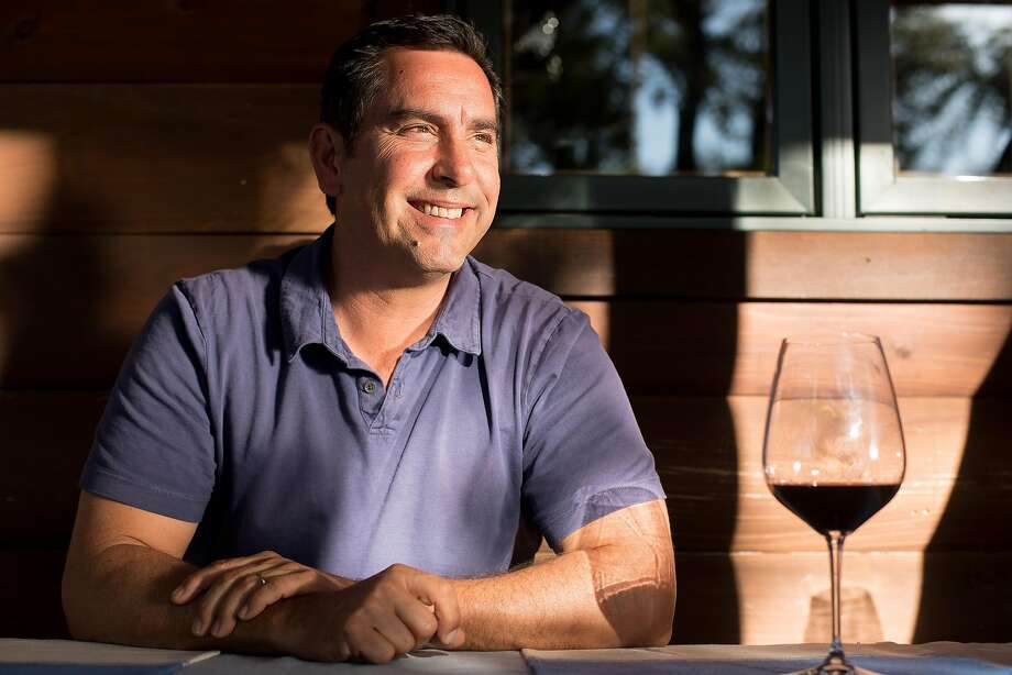 Andy Erickson, winemaker at Xavier Cervantes' Hine Ranch vineyards. Photo: Noah Berger, Special To The Chronicle