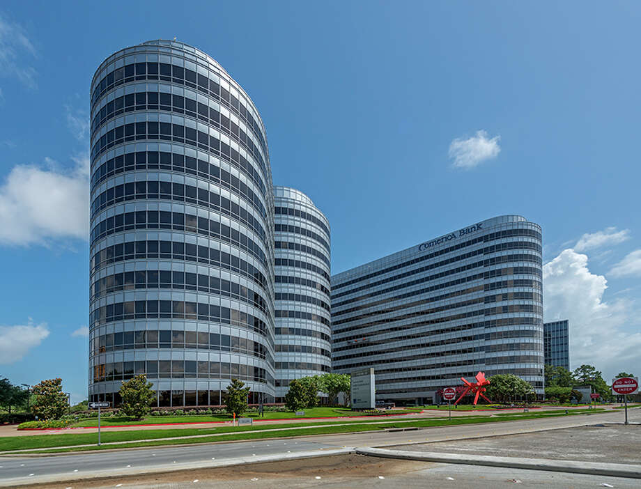 Brookhollow Central, a three-building office campus containing 806,541 square feet along the North Loop, has been acquired by Hertz Investment Group of California. Photo: Jud Haggard / Richard Burger