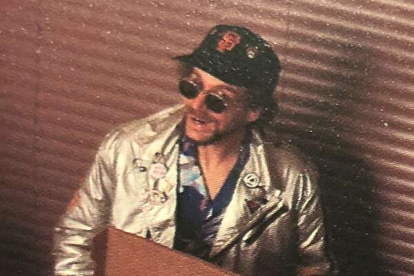Kevin Aspell as Stu the Pizza Dude circa 1991