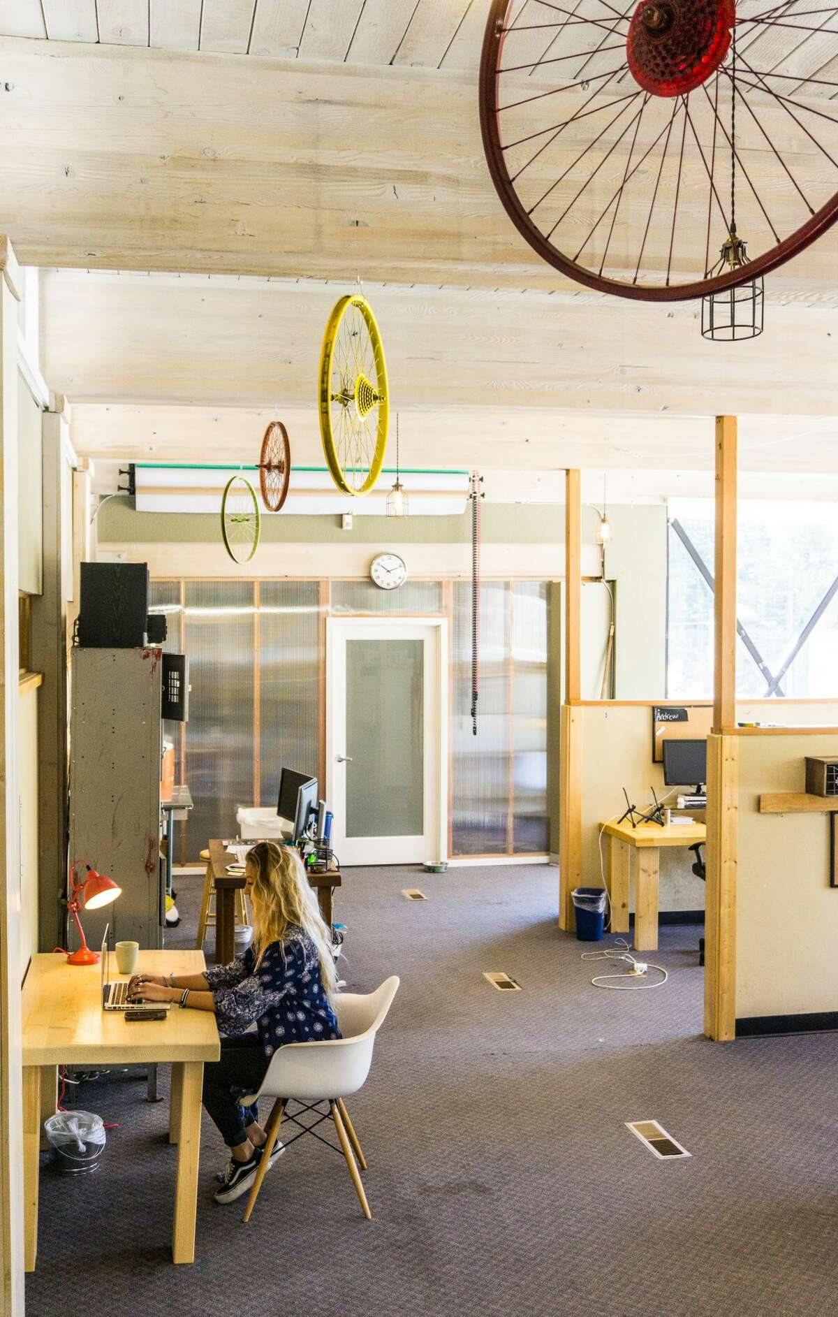 Tahoe Mill, a co-working space in Truckee, opened in 2013.