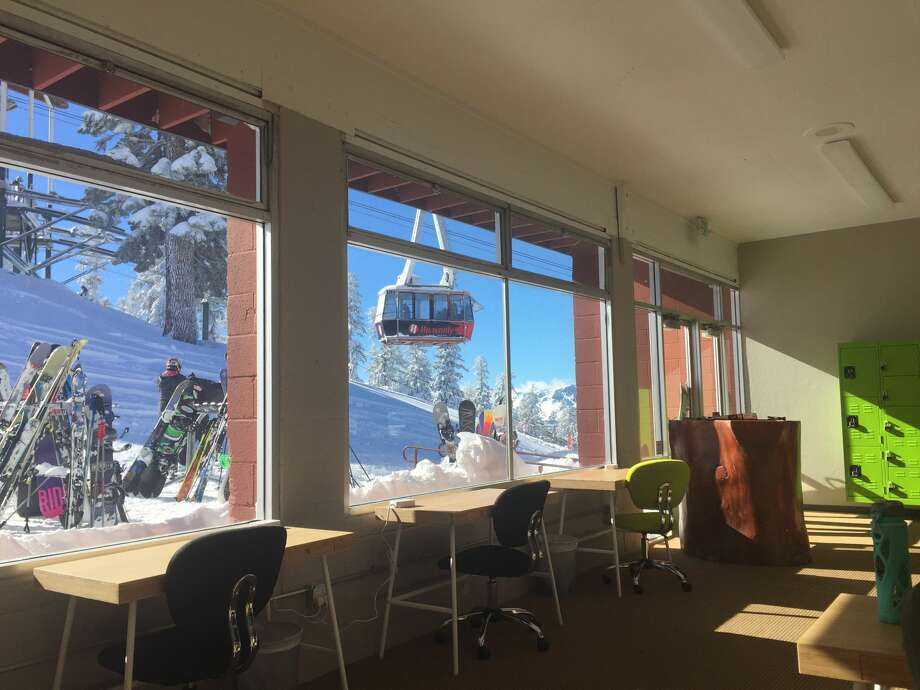 Tahoe Mountain Lab, a co-working space in South Lake Tahoe, opened in 2014. Photo: Tahoe Mountain Lab