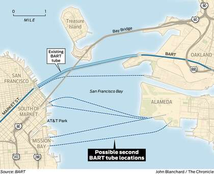 Editorial To Address Bay Area Traffic Build The Tube Skip The Bridge Sfchronicle Com This map by the u.s. to address bay area traffic build the