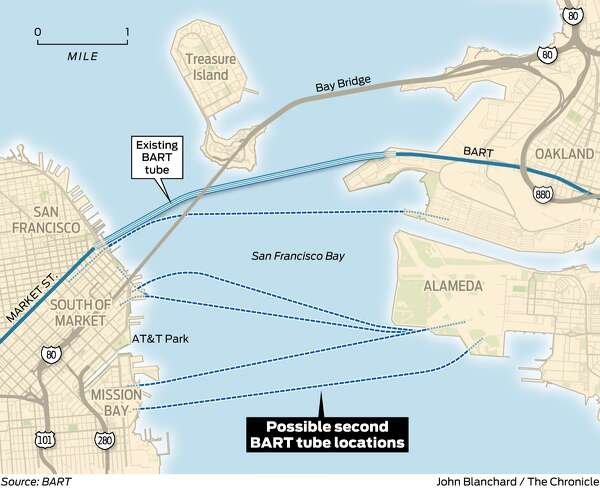 Editorial To Address Bay Area Traffic Build The Tube Skip The