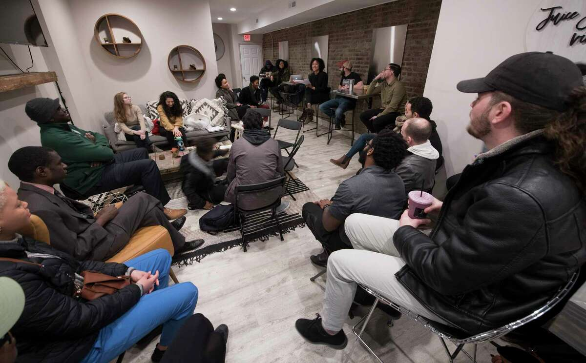 The Power Breakfast at the Juice Factory VII Tuesday Feb. 20, 2018 in Troy, N.Y. (Skip Dickstein/Times Union)