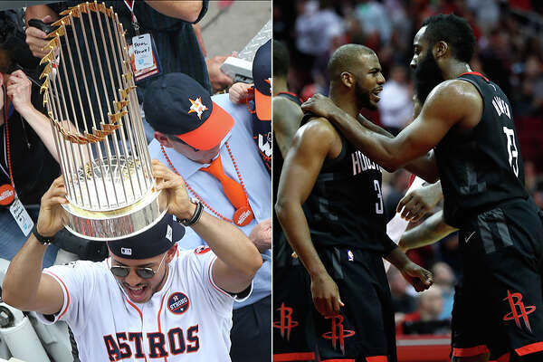 The Astros are the reigning World Series champions with a loaded roster that could make them MLB's first repeat champ since 2000. Meanwhile the Rockets own the NBA's best record coming out of the All-Star break and are on the short list of championship contenders.