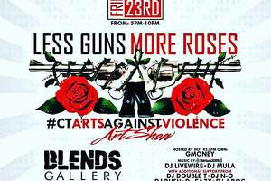 The Blends Gallery in Bridgeport, Conn., will host an art show Friday with a theme of anti-violence. The show is expected to run from 5 p.m. to 10 p.m. at 1163 Main Street.
