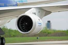 An Airbus jet with the PurePower PW1000G engine manufactured by Pratt & Whitney, a subsidiary of United Technologies. On Feb. 22, 2018, shares of UTC rose 3 percent after the company's CEO indicated a willingness to explore breaking into three companies, with its divisions including Otis and UTC Aerospace Systems. (Photo via Businesswire)