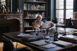 """Jean-LouisTrintignant stars as a senile widower with a sociopathic granddaughter and other questionable family members in """"Happy End."""""""