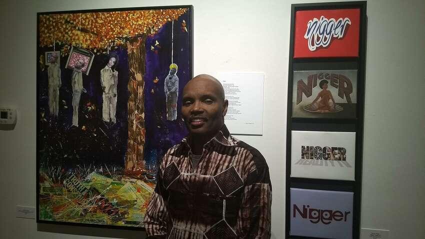 Artist Rhinold Ponder?'s exhibit, ?