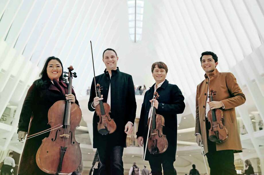 The Calidore String Quartet displays award-winning excellence in Westport Arts Center concert on Friday, March 2. Photo: Contributed Photo