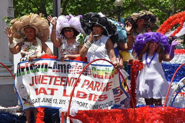 The 2017 Juneteenth African-American Caribbean Parade and Festival in Bridgeport is held to commerate the freeing of the last slaves in the U.S. on June 19, 1865.