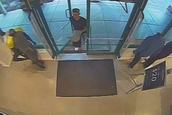 Two Hispanic males allegedly concealed merchandise in shopping bags in the Calvin Klein store in Clinton on Feb. 21.