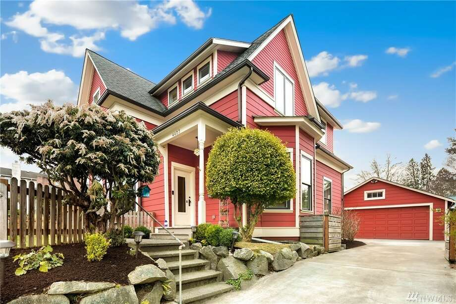 4423 30th Ave. W., listed for $1,089,000. See the full listing below. Photo: Listing Provided Courtesy Of Angela Carroll, Windermere RE Greenwood