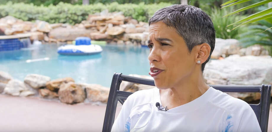 YouTube personality Mari Lopez (seen here) died from cancer in December after she and her niece Liz Johnson, who runs their channel Liz & Mari, made claims that she had been cured thanks to her vegan diet, among other things. Photo: YouTube/Liz & Mari