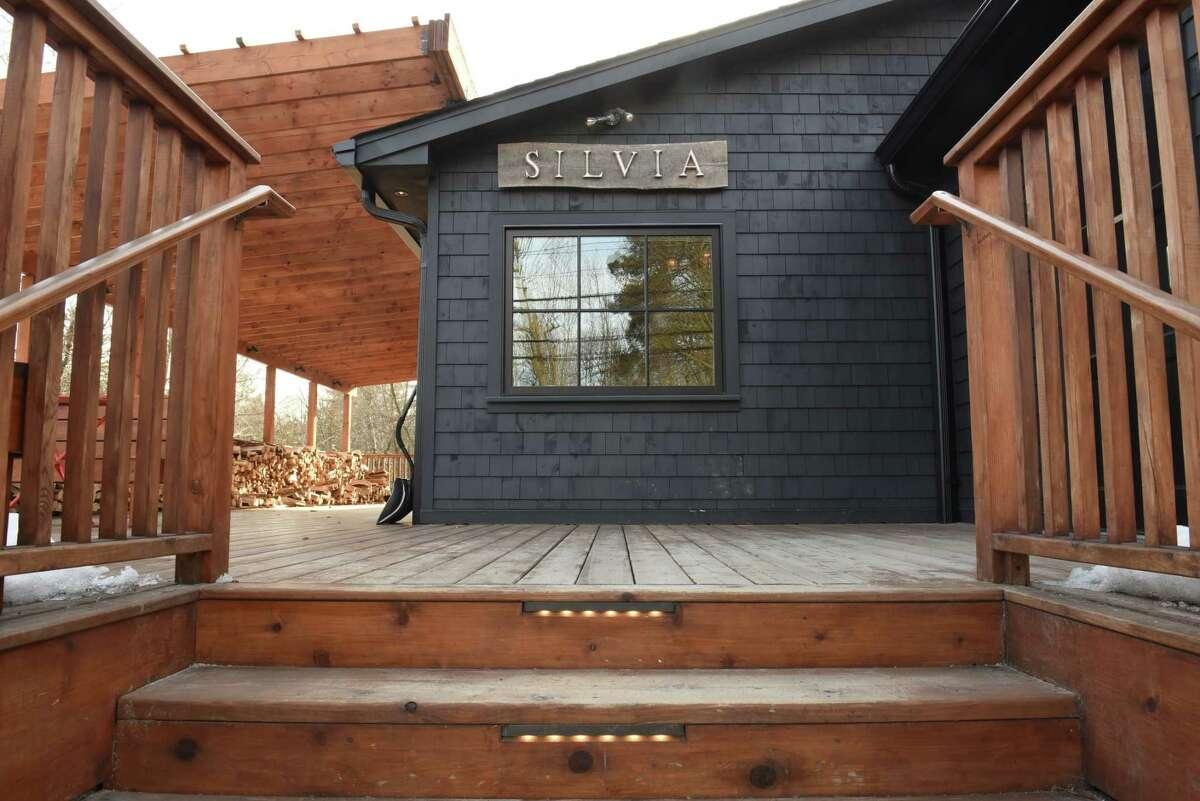 Exterior of Silvia restaurant on Tuesday, Feb. 13, 2018 in Woodstock, N.Y. (Lori Van Buren/Times Union)