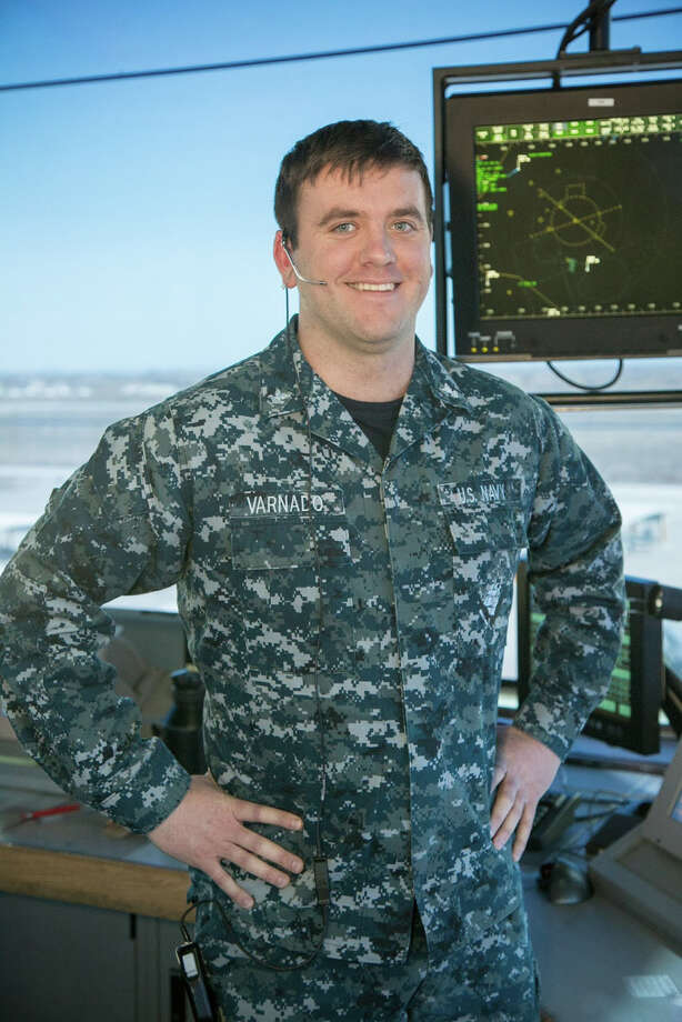 Petty Officer 2nd Class Joseph Varnado of Porter, Texas, is an air traffic controller working with the NAS Fallon Operations Department stationed aboard Naval Air Station Fallon, Nev. Photo: Submitted