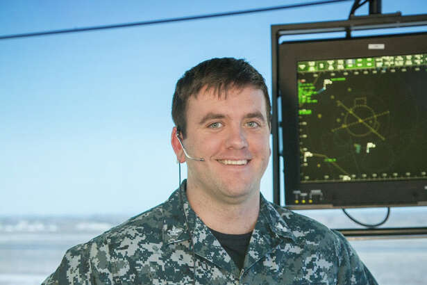 Petty Officer 2nd Class Joseph Varnado of Porter, Texas, is an air traffic controller working with the NAS Fallon Operations Department stationed aboard Naval Air Station Fallon, Nev.