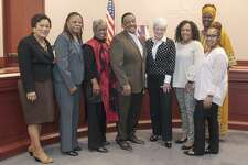 Margaret E. Morton, the first African-American woman to sit in the Connecticut legislature has been nominated for the Connecticut Women's Hall of Fame.