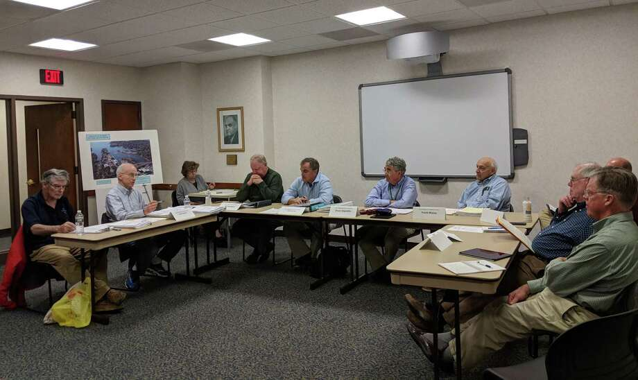 The Greenwich Harbor Management Commission had its monthly meeting on Feb. 21, 2018, where commissioners discussed progress made on plans to dredge Greenwich Harbor. Although the process will be a long one, according to Chairman Bruce Angiolillo, steps are being taken to figure out what to do with the half of 120,000 cubic square yards of material that wouldn't be suitable to dispose of in open water. Photo: Jennifer Turiano / Hearst Connecticut Media / Greenwich Time