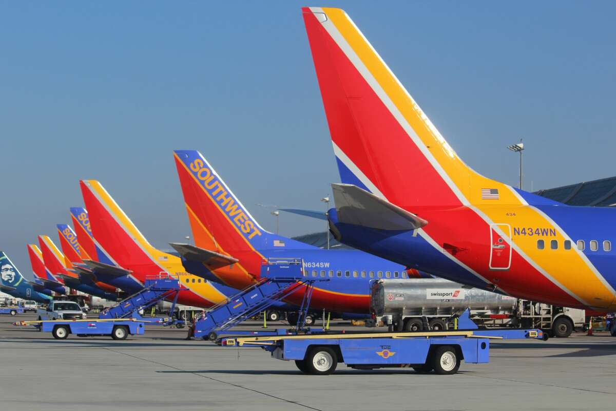 Southwest's plans call for the addition of 80 more flights per week at SJC starting in March, April and May