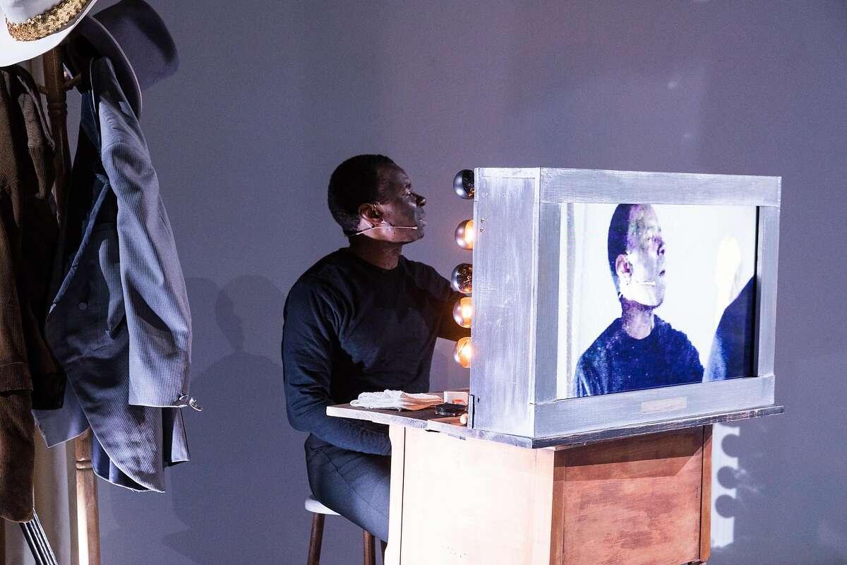 Frank Lawson plays Ben Vereen in�Edgar Arceneaux's
