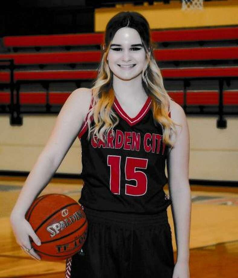 Garden City girls basketball player Payton Hastings.