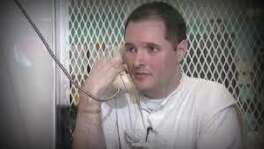 "Thomas ""Bart"" Whitaker talks from prison in Polunsky. In an unexpected last-minute decision, Gov. Greg Abbott granted clemency to the Sugar Land man slated for execution Thursday, just minutes before he was to be strapped to the gurney in Huntsville."