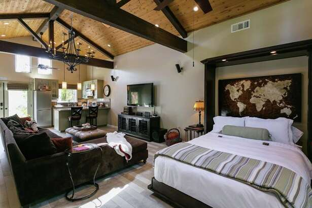 These digs in LA's Pacific Palisades neighborhood cost $175 a night.