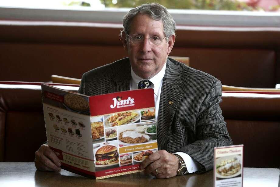 Jimmy Hasslocher is the CEO of Frontier Enterprises which runs Jim's Restaurants, The Magic Time Machine, La Fonda Alamo Heights and Frontier Burger. Photo: John Davenport /San Antonio Express-News / ©John Davenport/San Antonio Express-News