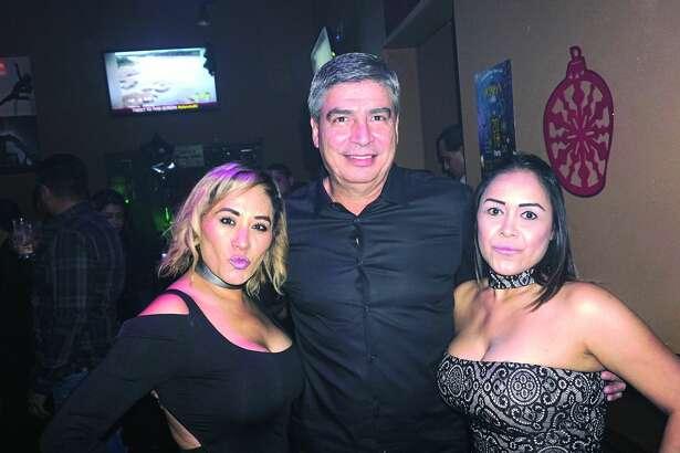 Pat Salinas, Fred Sanchez and Martha Ramirez at Planeta 80 Bar & Grill  Friday, February 23, 2018