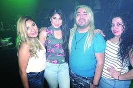 Lisa Lopez, Mayra Pedraza, Viko Alaniz and Kalenna Espinoza at Club Vibe  Friday, February 23, 2018