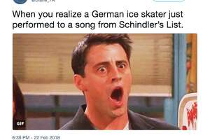 """A number of Twitter users weren't happy that a German figure skater performed her routine to the score of """"Schindler's List."""""""