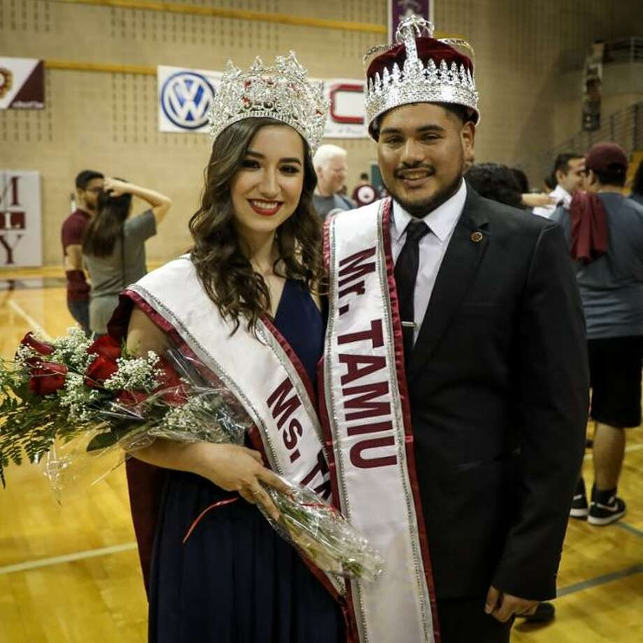 Donato Benítez and Tabata Rodríguez are Mr. and Ms. TAMIU 2018 Photo: /