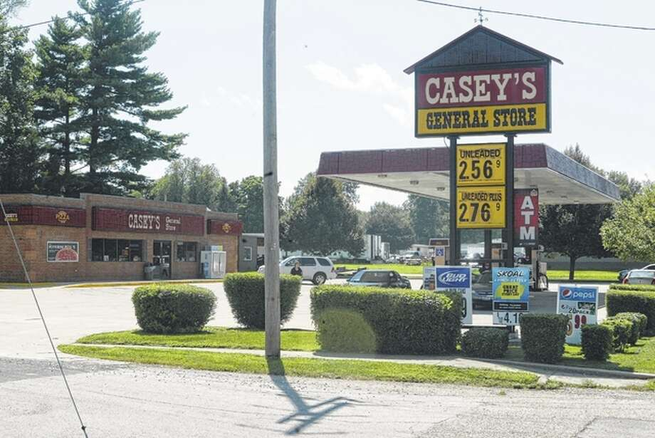 A Casey's General Store now stands at 901 W. Walnut St. in Jacksonville, the former location of the Sandman Motel, the last place Bruce Campbell was seen in 1959. Photo: Nick Draper | Journal-Courier