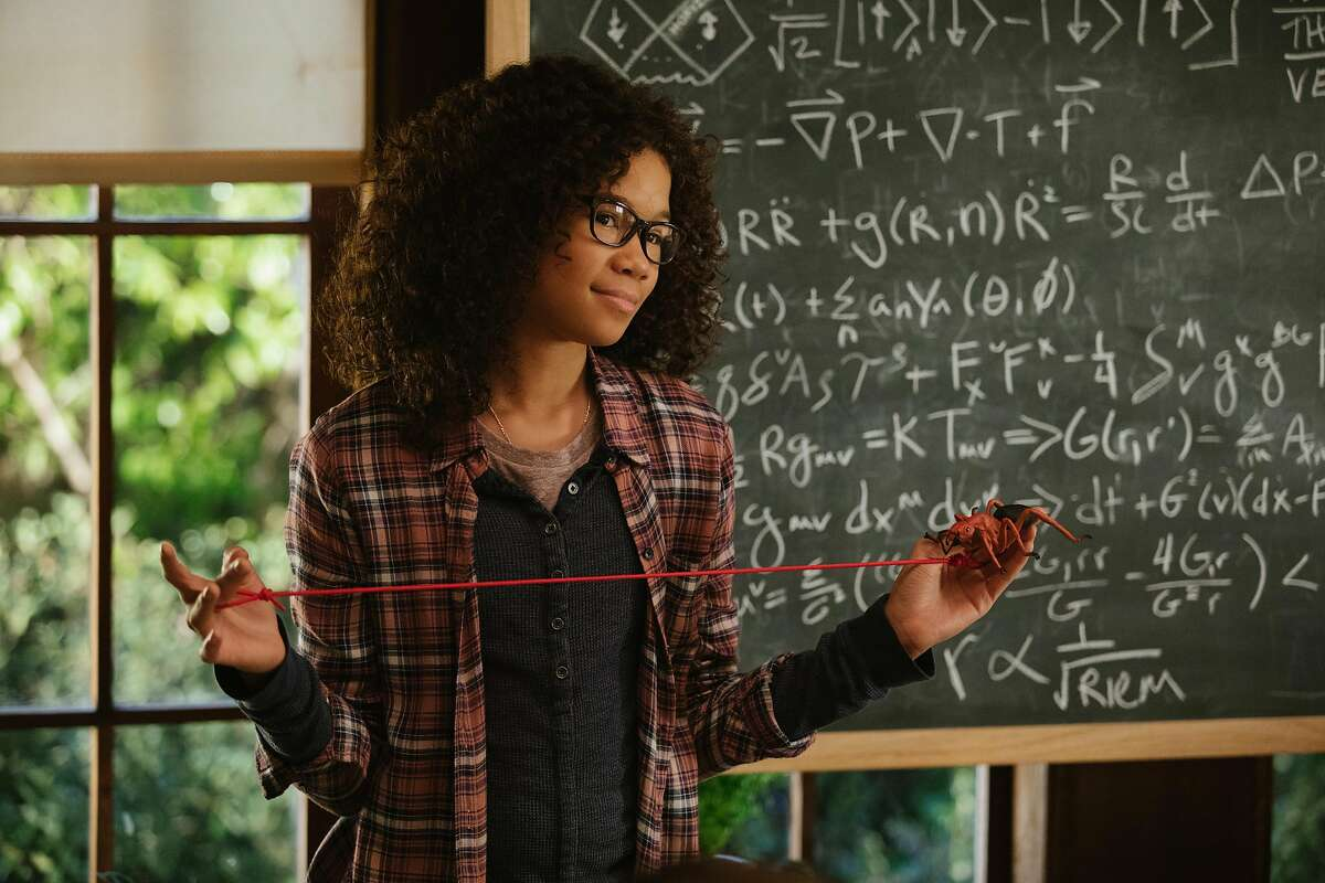 Storm Reid is Meg Murry in Disney�s A WRINKLE IN TIME, an epic adventure based on Madeleine L�Engle�s timeless classis.