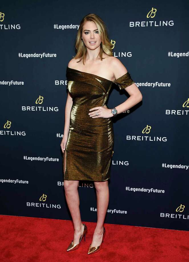 Model Kate Upton attends the Breitling Global Roadshow event at The Duggal Greenhouse on Thursday, Feb. 22, 2018, in New York. (Photo by Evan Agostini/Invision/AP) Photo: Evan Agostini, Associated Press / 2018 Invision
